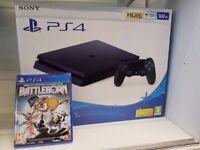 PS4 Slim 500 GB Brand New Sealed