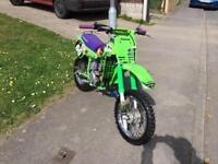 Kids dirtbike Kawasaki kx60 as new condition
