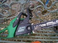 Chain saw petrol