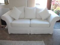2 seater settee with washable covers exc. condition