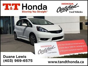2014 Honda Fit Sport- One Owner, Local Car, No Accidents