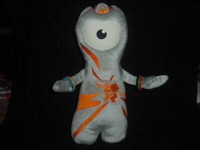 Souvenir 2012 Olympic Games London, Wenlock Soft Plush Cuddly Toy