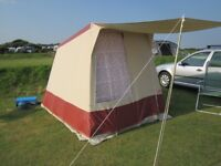Two person frame tent