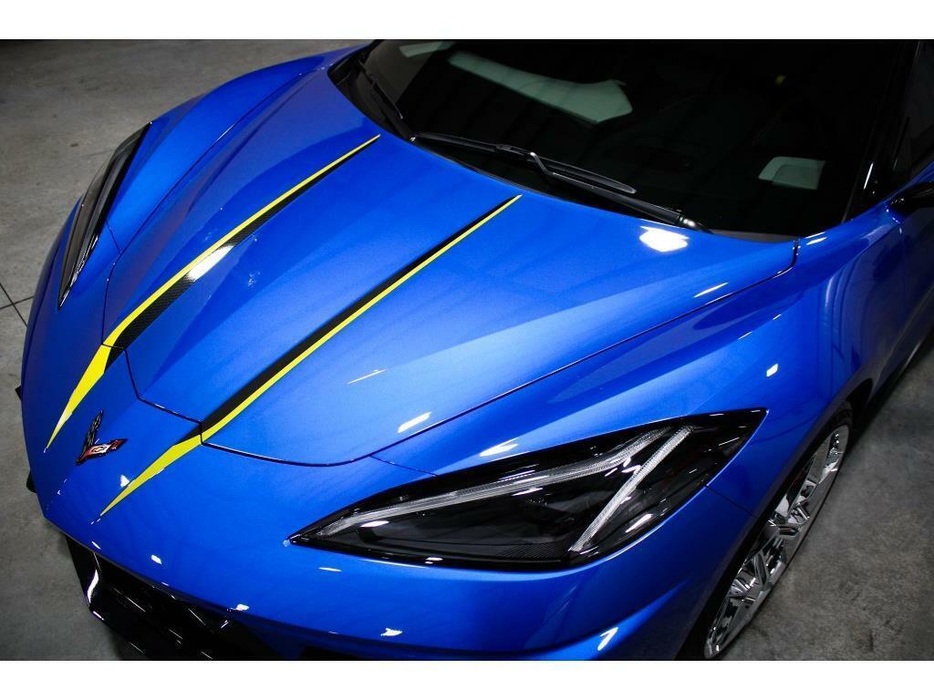 2021 Blue Chevrolet Corvette   | C7 Corvette Photo 9