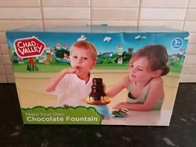 Brand new children chocolate fountain
