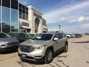 2017 GMC Acadia SLE, AWD, Bluetooth, Sunroof, Clean Carproof