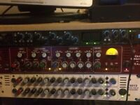 TL Audio Fat Funker Valve Preamp, Compressor, EQ, Outboard Studio Channel Strip