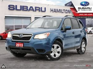 2015 Subaru Forester 2.5i NEW TIRES | NEW BRAKES | ONE OWNER