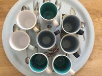 Assorted DENBY & BROSTE COPENHAGEN Mugs