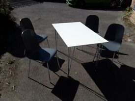 John Lewis Dining Table and 4 chairs