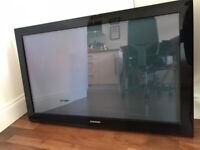 Samsung 42 inch Plasma TV (without a remote)