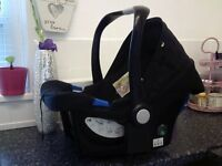 Mothercare Baby Infant Carrier New born Black Baby Car Seat