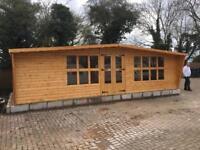 ****25x12 log cabin *****