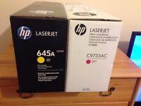 NEW Genuine HP Laserjet Print Cartridge C9733AC & C9733A Magenta 5500 5550 645A