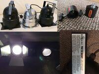 """3 x Par52 """"ParCan"""" stage lights"""