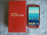 Samsung Galaxy S3 16GB Garnet Red