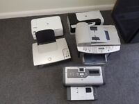 Various printers for spares,