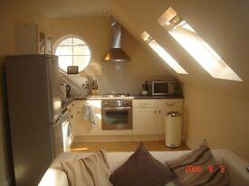 10 Minutes walk to Worc Park Stat. One Bed Flat cent heat, en suite, intercom, modern kitchen bath