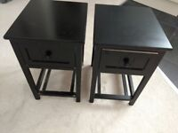 Pair of Bedside Tables Drawers