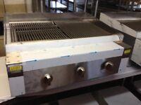 3 Burner Natural Gas Charcoal Grill en62