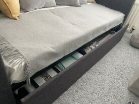 Single Day Bed with Mattress - As New