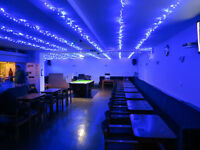 Hall for hire with a Licensed Bar