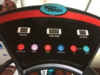 Body train vibration plate