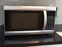 Morphy Richards silver 800w microwave oven