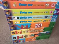 Family guy and King of the hill (4 seasons of each) £20