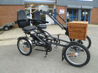 pedal-powered quadricycle like tricycle electric assist unused for sale  Buxton, Derbyshire