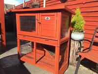Small double hutch refurbished - two available
