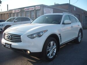 2012 Infiniti FX35 LIMITED,NAVY,CAM,