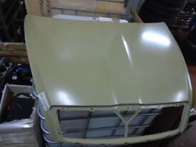 Skoda Octavia bonnet UNPAINTED - minor dents