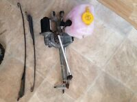 Corsa c/Astra washer bottle& motor wiper linkage & motor