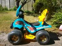 Kids electric ride on quad