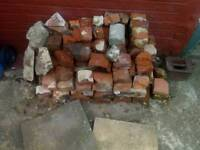 Free mixed brick rubble