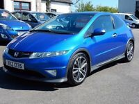 2007 honda civic type s gt Automatic, low miles, full history, motd april 2018 excellent example