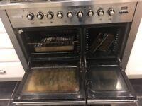 Tecnik range cooker 100cm