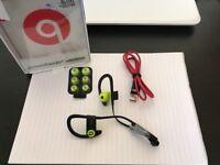Powerbeats 3- Brand New- Green/Black