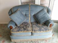 2 and 3 seater matching settees