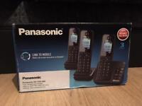 Panasonic twin handset and charger