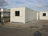 32ft x 10ft Anti Vandal Portable Cabin FOR SALE welfare unit site office building shipping container