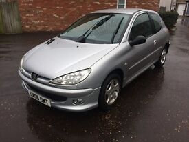 2006 PEUGEOT 206 1.4 VERVE, LONG MOT, DRIVES SUPERBLY. IDEAL FIRST CAR.