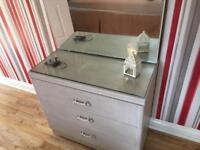 Shabby Chic Style Drawers and Dresser