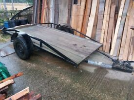 Flatbed trailer for sale £250 o.n.o bargain price for a such a useful trailer