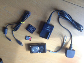 Lumix Digital Camera with spare battery and SD card