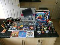Ps3 console with all leads + 2 pads + 11 games