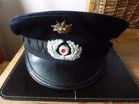 WW2 Genuine German Officers Cap, REICHSKRIEGERBUND.