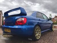 Subaru Impreza WRX 2.0 Turbo - STI Parts, Stage 2, Modified, 280bhp, MOT 2018, Excellent Condition