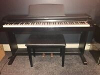 Technics digital piano, Excellent condition comes with leather stool and manual